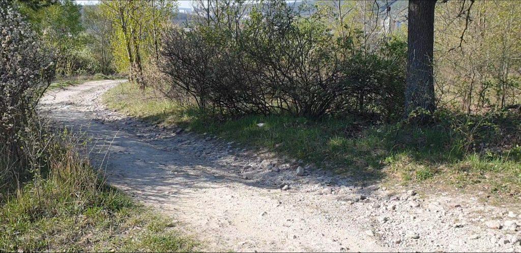 kamenistá cesta